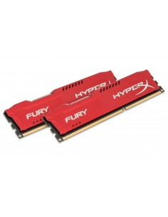 HyperX FURY Red 8GB 1333MHz DDR3 muistimoduuli 2 x 4 GB Kingston HX313C9FRK2/8 - 1