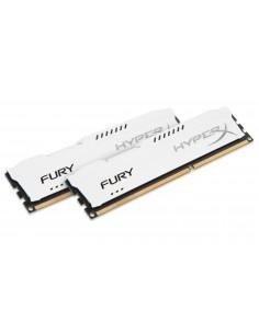 HyperX FURY White 16GB 1600MHz DDR3 muistimoduuli 2 x 8 GB Kingston HX316C10FWK2/16 - 1