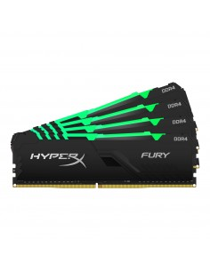 HyperX FURY HX430C16FB3AK4/128 muistimoduuli 128 GB 4 x 32 DDR4 3000 MHz Kingston HX430C16FB3AK4/128 - 1