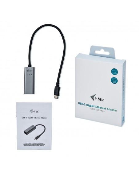 i-tec Metal C31METALGLAN nätverkskort Ethernet 1000 Mbit/s I-tec Accessories C31METALGLAN - 7