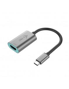 i-tec Metal C31METALHDMI60HZ videokaapeli-adapteri 0.15 m USB Type-C HDMI Harmaa, Turkoosi I-tec Accessories C31METALHDMI60HZ -