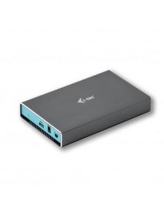 "i-tec C31MYSAFEU315 tallennusaseman kotelo HDD-/SSD-kotelo Harmaa, Turkoosi 2.5"" I-tec Accessories C31MYSAFEU315 - 1"