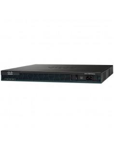 Cisco 2901 langallinen reititin Gigabitti Ethernet Musta Cisco C2901-VSEC/K9 - 1