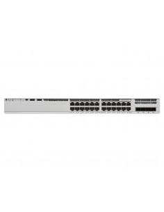 Cisco Catalyst 9200L Ohanterad L3 Gigabit Ethernet (10/100/1000) Strömförsörjning via (PoE) stöd Grå Cisco C9200L-24P-4G-E - 1