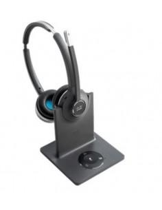 Cisco 562 Kuulokkeet Pääpanta USB A-tyyppi Bluetooth Musta, Harmaa Cisco CP-HS-WL-562-M-EU= - 1
