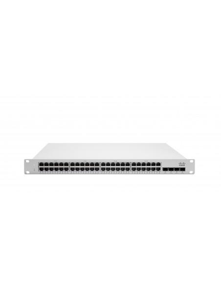 Cisco Meraki MS225-48FP Hallittu L2 Gigabit Ethernet (10/100/1000) Power over -tuki 1U Harmaa Cisco MS225-48FP-HW - 1
