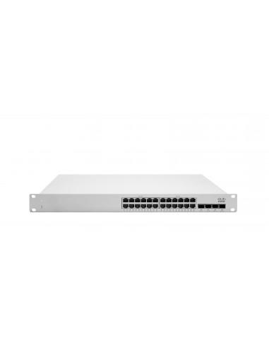 Cisco Meraki MS250-24P L3 Stck Cld-Mngd 24x GigE 370W PoE Switch Cisco MS250-24P-HW - 1