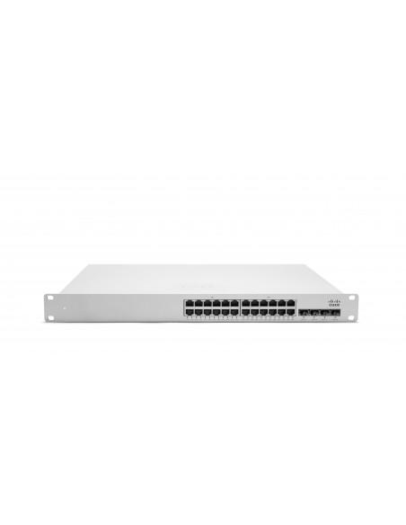 Cisco MS350-24P hanterad L3 Gigabit Ethernet (10/100/1000) Strömförsörjning via (PoE) stöd 1U Grå Cisco MS350-24P-HW - 1