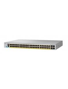 Cisco Catalyst 2960-L Hallittu L2 Gigabit Ethernet (10/100/1000) Power over -tuki 1U Harmaa Cisco WS-C2960L-SM-48PS - 1