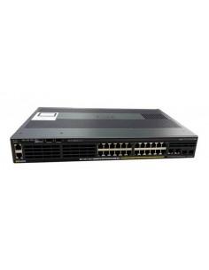 Cisco Catalyst WS-C2960X-24PSQ-L nätverksswitchar hanterad L2 Gigabit Ethernet (10/100/1000) Strömförsörjning via (PoE) stöd Cis