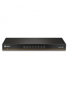 Vertiv Avocent 1x8 with USB, w/OSD, push (touch) button switching, keystroke cascade support, internal power supply Vertiv AV108