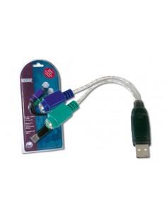 Digitus USB to PS/2 Adaptor liitäntäkortti/-sovitin Digitus DA-70118 - 1
