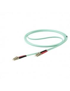 StarTech.com 450FBLCLC10 valokuitukaapeli 10 m LSZH OM4 LC Aqua Startech 450FBLCLC10 - 1