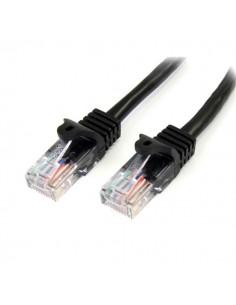 StarTech.com 45PAT10MBK verkkokaapeli 10 m Cat5e U/UTP (UTP) Musta Startech 45PAT10MBK - 1