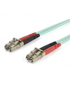 StarTech.com 15 m OM3 LC till LC-multiläge duplex fiberoptisk patchkabel Startech A50FBLCLC15 - 1