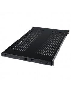 StarTech.com Ventilerad rackmonteringshylla med justerbart monteringsdjup, 1U - 80 kg Startech ADJSHELF - 1