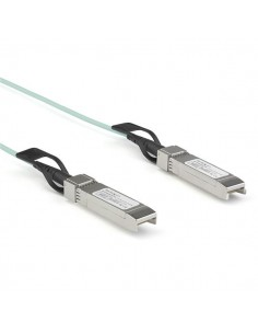 StarTech.com Dell EMC AOC-SFP-10G-3M Compatible 3m/9.84ft 10G SFP+ to AOC Cable - 10GbE Active Optical Fiber 10Gbps SFP Startech
