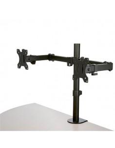 StarTech.com Desk Mount Dual Monitor Arm - Clamp / Grommet VESA for up to 32 inch Displays Ergonomic Articulating Height Startec