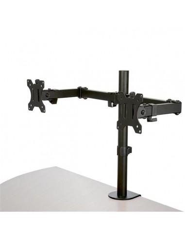 StarTech.com Skrivbordsmonterad arm för dubbelskärm - Tvärstång Ledad Stål Startech ARMDUAL2 - 1
