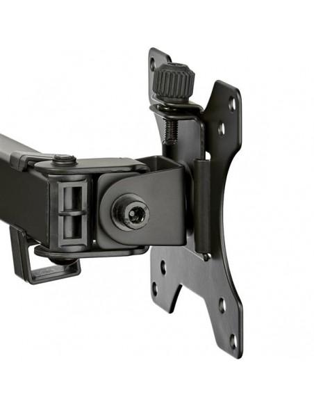 "StarTech.com ARMDUAL2 monitorin kiinnike ja jalusta 81.3 cm (32"") Puristin Musta Startech ARMDUAL2 - 9"