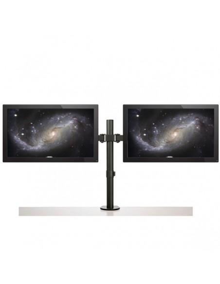 StarTech.com Skrivbordsmonterad arm för dubbelskärm - Tvärstång Ledad Stål Startech ARMDUAL2 - 10