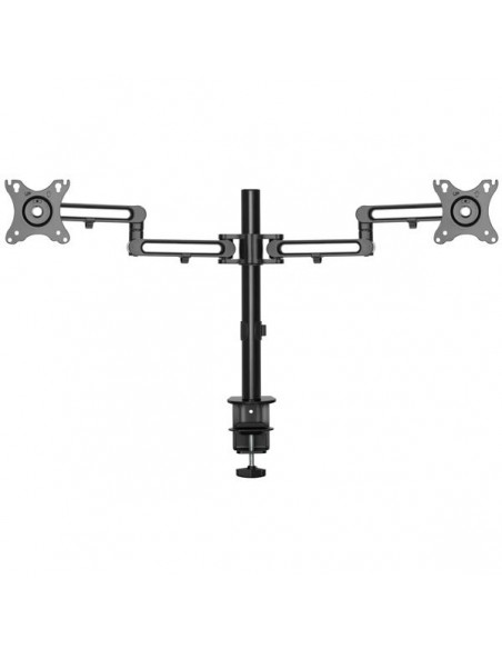 StarTech.com Desk Mount Dual Monitor Arm - Clamp VESA Compatible for up to 32 inch Displays Ergonomic Articulating Height Starte