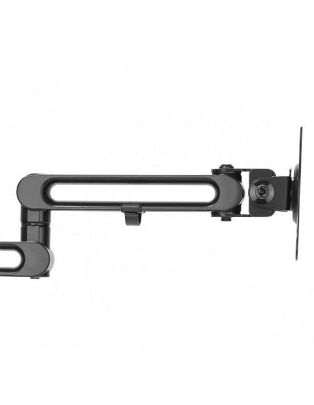 "StarTech.com ARMDUAL3 monitorin kiinnike ja jalusta 81.3 cm (32"") Puristin Musta Startech ARMDUAL3 - 4"