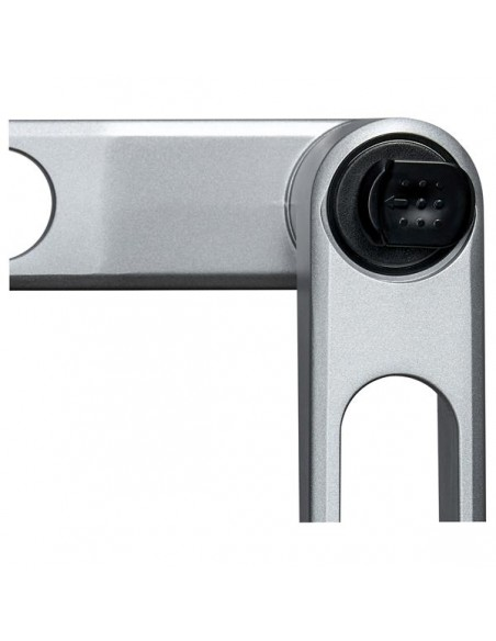 "StarTech.com ARMDUALPS monitorin kiinnike ja jalusta 68.6 cm (27"") Puristin Hopea Startech ARMDUALPS - 14"
