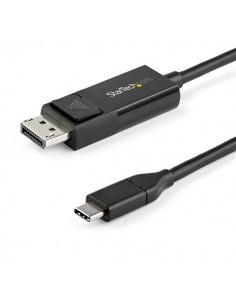 StarTech.com CDP2DP2MBD videokaapeli-adapteri 2 m USB Type-C DisplayPort Musta Startech CDP2DP2MBD - 1