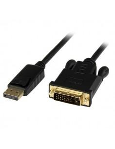 StarTech.com 6 ft DisplayPort to DVI Active Adapter Converter Cable - DP 1920x1200 Black Startech DP2DVIMM6BS - 1