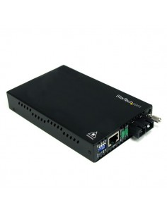 StarTech.com 10/100 Mbps Single Mode Fiber Media Converter SC 30 km Startech ET90110SM302 - 1