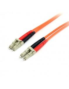 StarTech.com FIBLCLC1 valokuitukaapeli 1 m LC Oranssi Startech FIBLCLC1 - 1