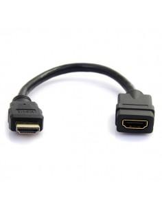 StarTech.com HDMIEXTAA6IN HDMI-kabel 0.152 m HDMI Typ A (standard) Svart Startech HDMIEXTAA6IN - 1