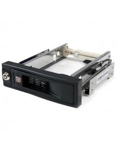 StarTech.com 5.25in Trayless Hot Swap Mobile Rack for 3.5in Hard Drive Startech HSB100SATBK - 1
