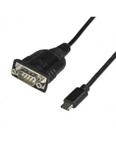 StarTech.com ICUSB232PROC sarjakaapeli Musta 0.4 m USB C DB-9 Startech ICUSB232PROC - 1