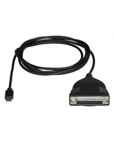 StarTech.com ICUSBCPLLD25 cable gender changer USB C DB25 Musta Startech ICUSBCPLLD25 - 1