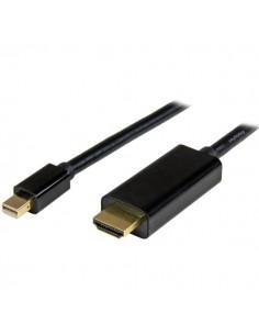 StarTech.com Mini DisplayPort till HDMI-konverterarkabel - 1 m 4K Startech MDP2HDMM1MB - 1