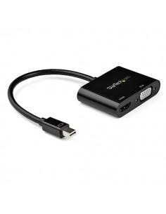StarTech.com Mini DisplayPort to HDMI VGA Adapter - 4K 60Hz Startech MDP2VGAHD20 - 1