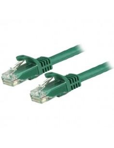 StarTech.com Cat6-patchkabel med hakfria RJ45-kontakter – 0.5 m, grön Startech N6PATC50CMGN - 1