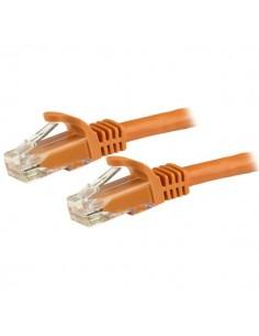 StarTech.com Cat6-patchkabel med hakfria RJ45-kontakter – 5 m, orange Startech N6PATC5MOR - 1