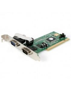 StarTech.com PCI RS232 seriell kortadapter med 2 portar och 16550 UART Startech PCI2S550 - 1