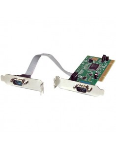 StarTech.com 2 Port PCI Low Profile RS232 Serial Adapter Card with 16550 UART Startech PCI2S550_LP - 1