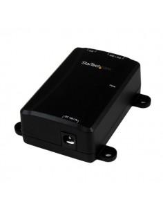 StarTech.com Gigabit-midspan med 1 port - PoE+-injektor 802.3at och 802.3af Startech POEINJ1GW - 1