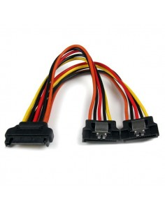 StarTech.com 6in Latching SATA Power Y Splitter Cable Adapter - M/F Startech PYO2LSATA - 1