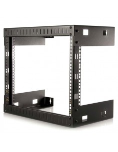 "StarTech.com 8U 19"" Wall Mount Network Rack - 12"" Deep 2 Post Open Frame Server Room for Data/AV/IT/ Communication/Computer Star"