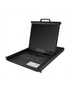 StarTech.com 8-portars rackmonterad KVM-konsol för serverrack - 19 tum 1U Startech RKCONS1908K - 1