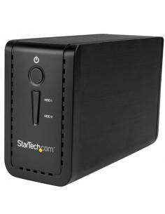 "StarTech.com S352BU313R tallennusaseman kotelo 3.5"" HDD-/SSD-kotelo Musta Startech S352BU313R - 1"