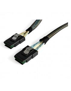 StarTech.com SAS8787100 SCSI-kaapeli Musta Ulkoinen 1 m SFF-8087 Startech SAS8787100 - 1