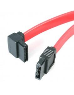 StarTech.com 45 cm SATA till vänstervinklad seriell ATA-kabel - F/F Startech SATA18LA1 - 1