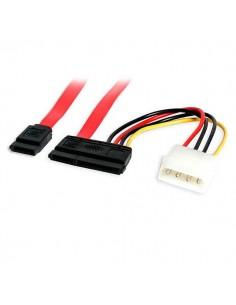 StarTech.com SATA18POW SATA-kaapeli 0.457 m SATA 7-pin + Molex (4-pin) Punainen Startech SATA18POW - 1